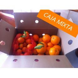 Caja mixta de Naranjas y Mandarinas 13Kg